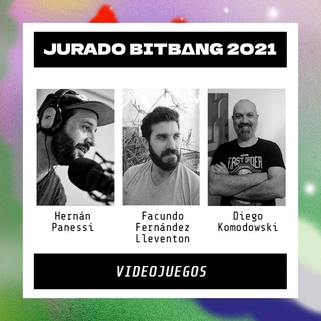 BIT BANG 2021 Jurado Videojuegos